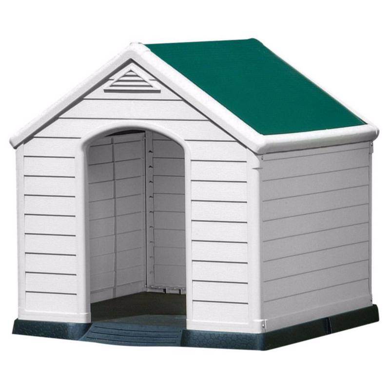 keter hundeh tte aus kunststoff von keter g nstig bestellen. Black Bedroom Furniture Sets. Home Design Ideas