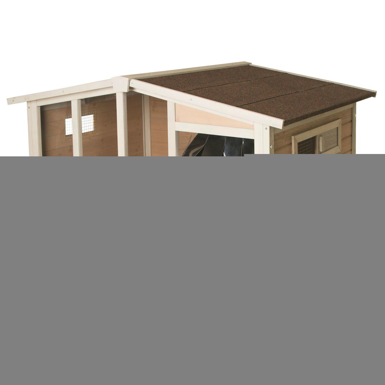 hundehütte xxl overview mit glasfront von kerbl günstig bestellen