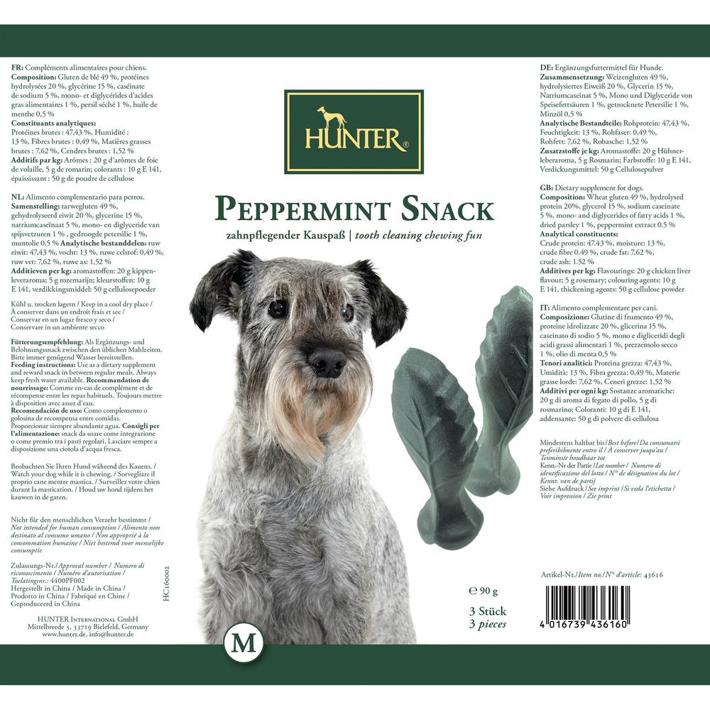 Hunter Hundesnack Peppermint 43617, Bild 4
