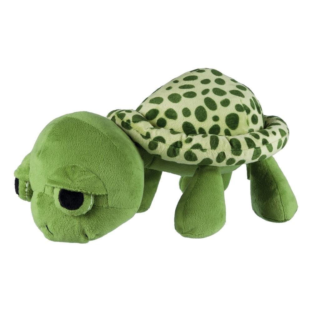 Trixie Hundespielzeug Plüsch Schildkröte, Original-Tierstimme XL 35854