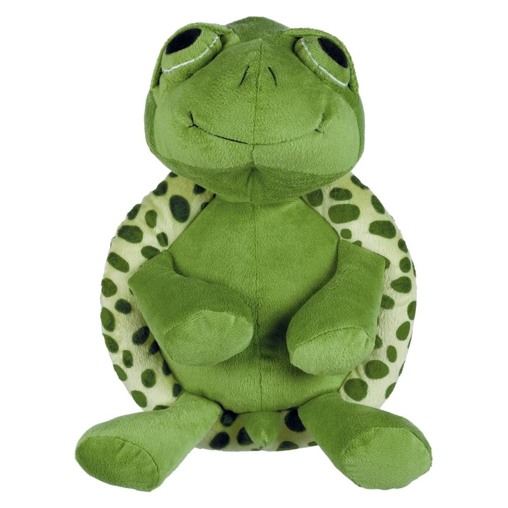 Trixie Hundespielzeug Plüsch Schildkröte, Original-Tierstimme XL 35854, Bild 2