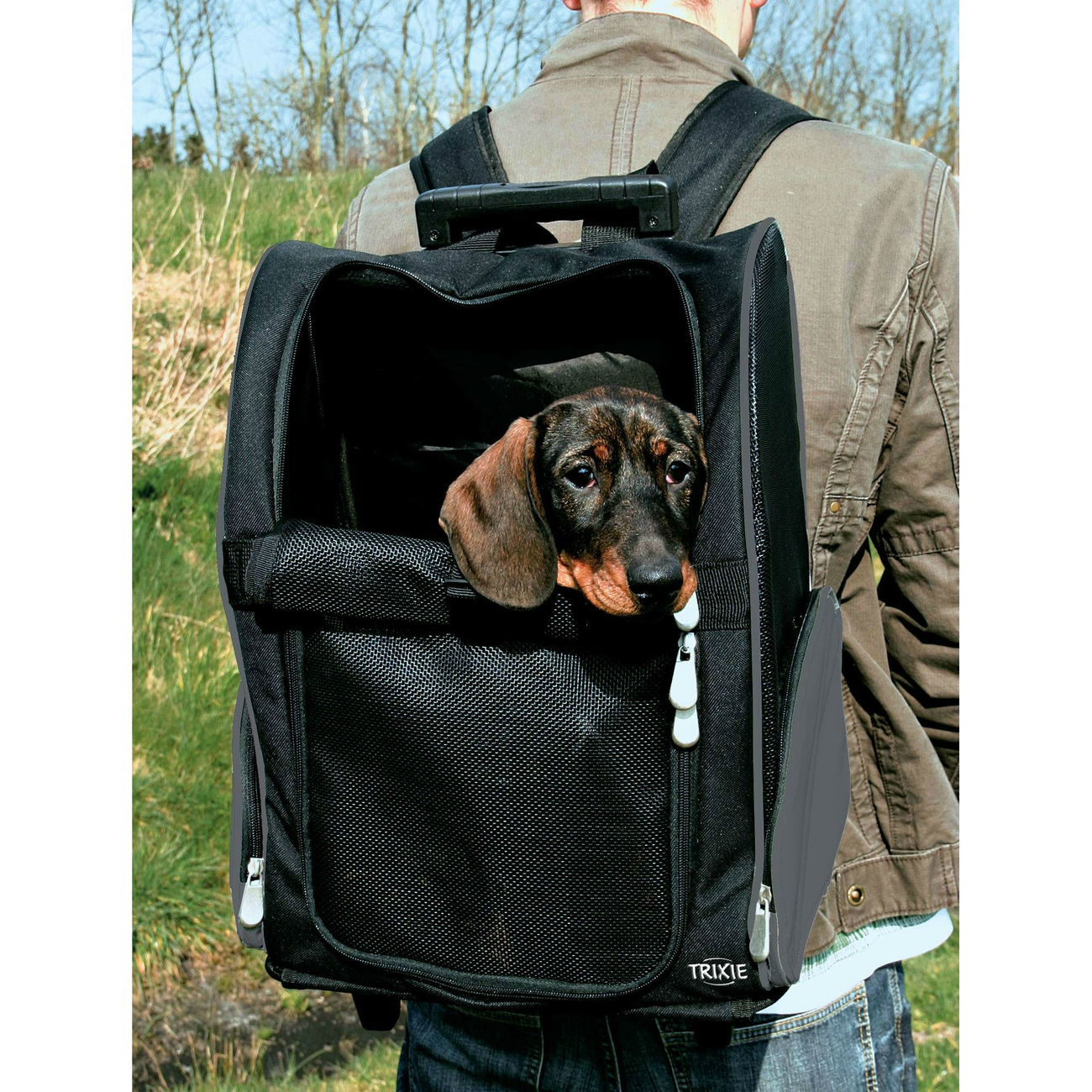 Trixie Hundetrolley Rucksack 2in1 2880, Bild 2