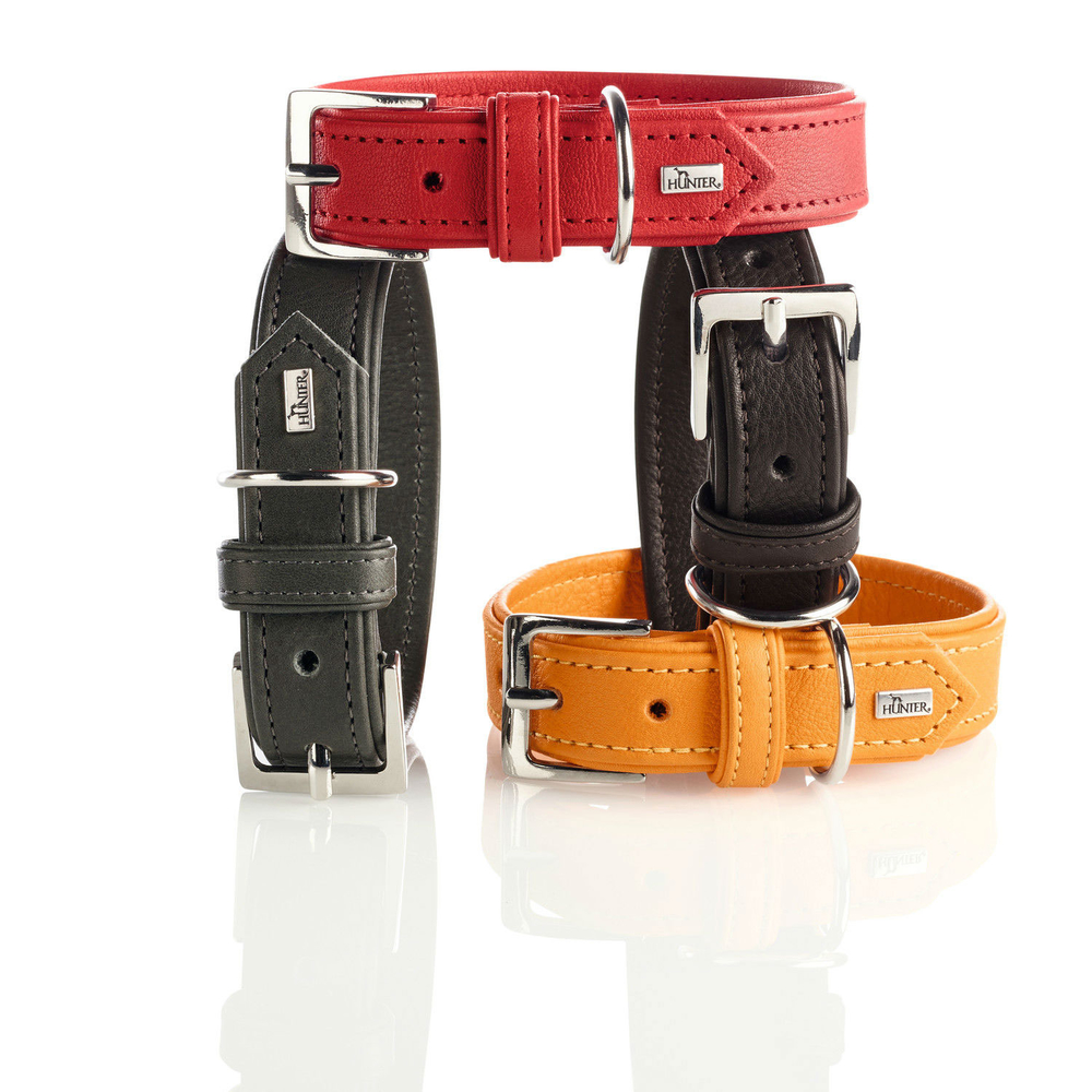 Hunter Hundehalsband Wallgau Leder 63525