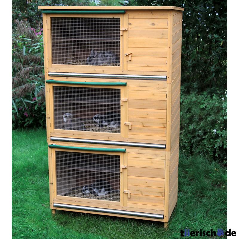 kaninchenstall xl bausatz basiselement erweiterbar von kerbl g nstig bestellen. Black Bedroom Furniture Sets. Home Design Ideas