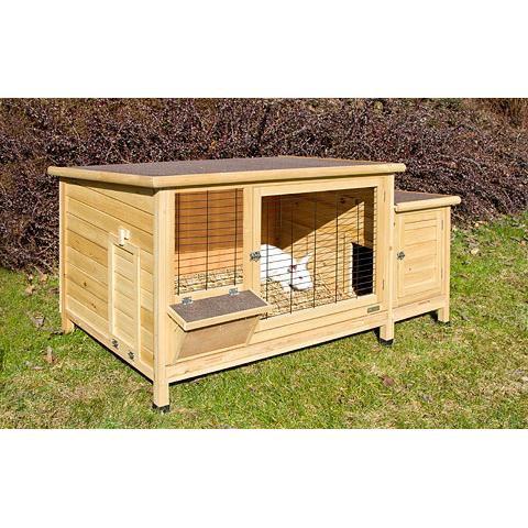 kaninchenstall xxl plus von kerbl g nstig bestellen. Black Bedroom Furniture Sets. Home Design Ideas