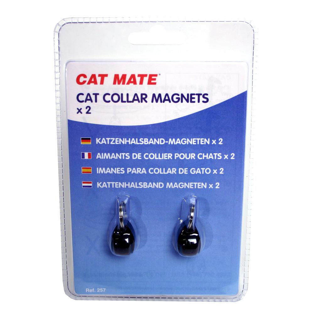 CAT MATE Katzen Halsbandmagneten 2er Pack für Cat Mate Katzentür 254/256, Bild 3