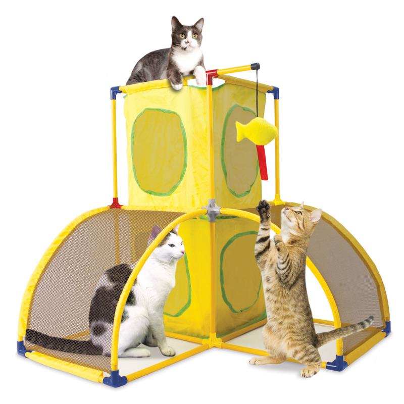 Katzenspielplatz kitty play palace von sportpet designs g 252 nstig