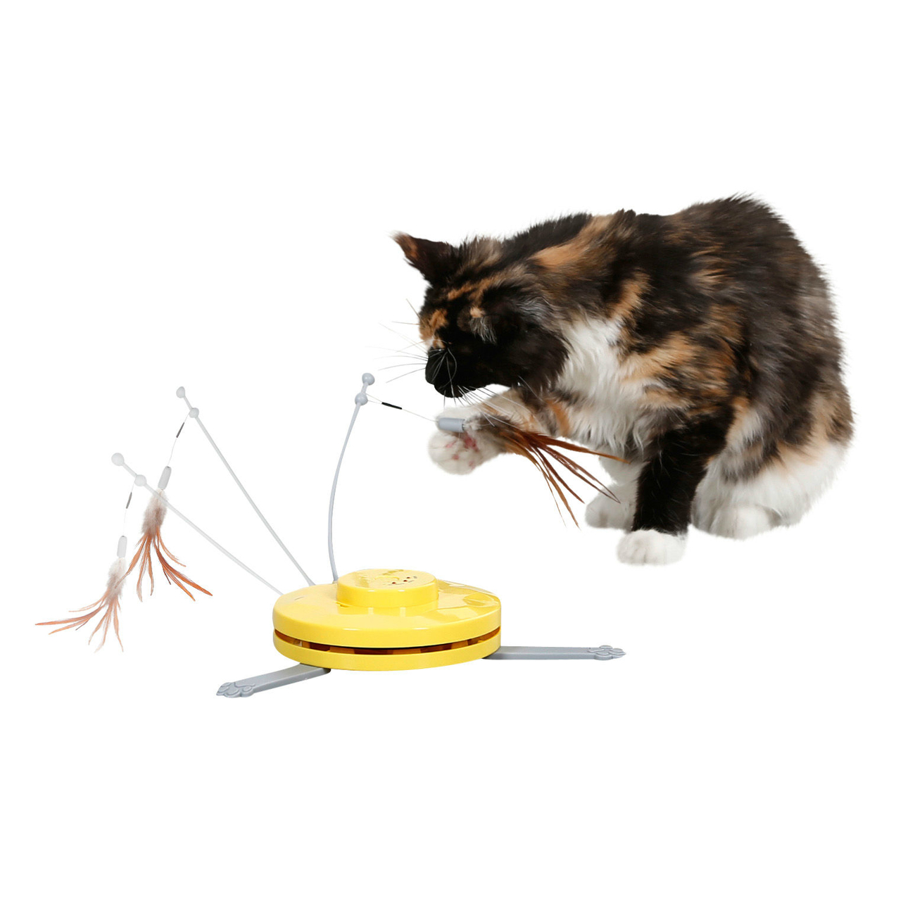 Kerbl Katzenspielzeug 2in1 Catch the TailFeather, Bild 4