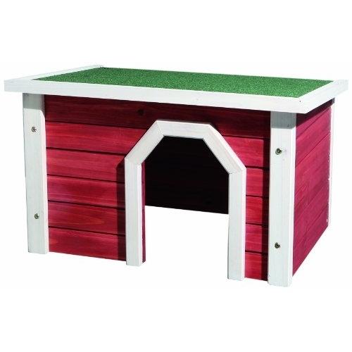 Trixie Kleintierhaus aus Holz rot weiß 62396, Bild 2