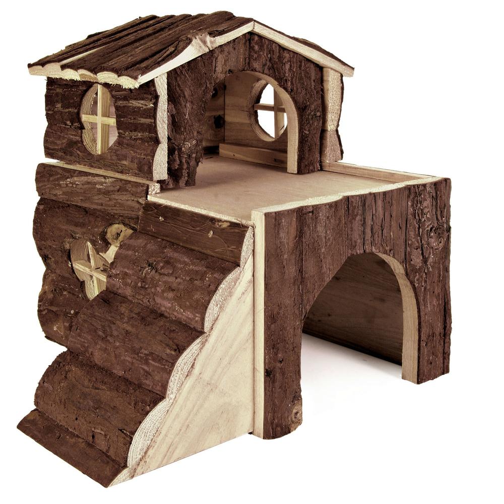 kleintierhaus bjork haus f r meerschweinchen 6129 von trixie g nstig bestellen. Black Bedroom Furniture Sets. Home Design Ideas