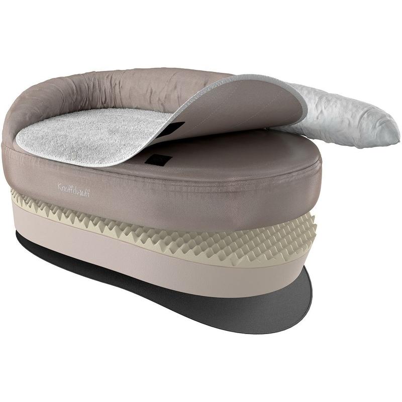 knuffelwuff orthop disches hundebett von knuffelwuff. Black Bedroom Furniture Sets. Home Design Ideas