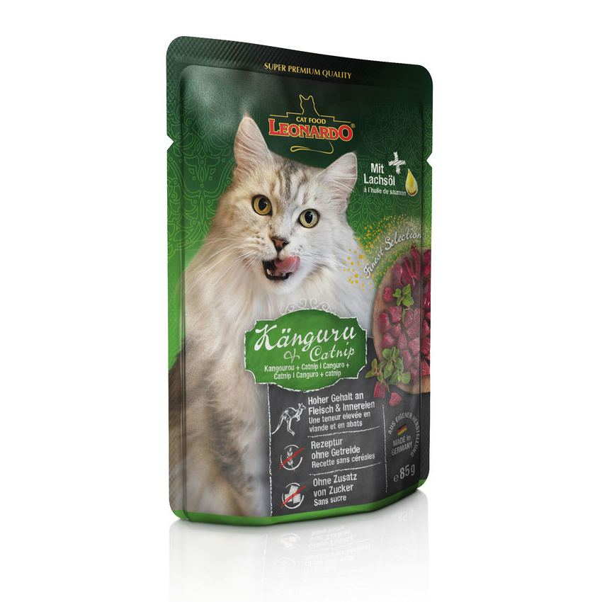 Leonardo Nassfutter für Katzen im Frischebeutel, Bild 2