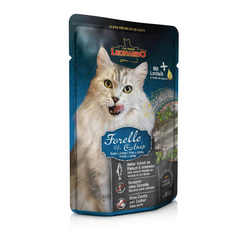 Leonardo Nassfutter für Katzen im Frischebeutel, Bild 3