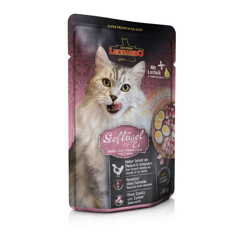 Leonardo Nassfutter für Katzen im Frischebeutel, Bild 4