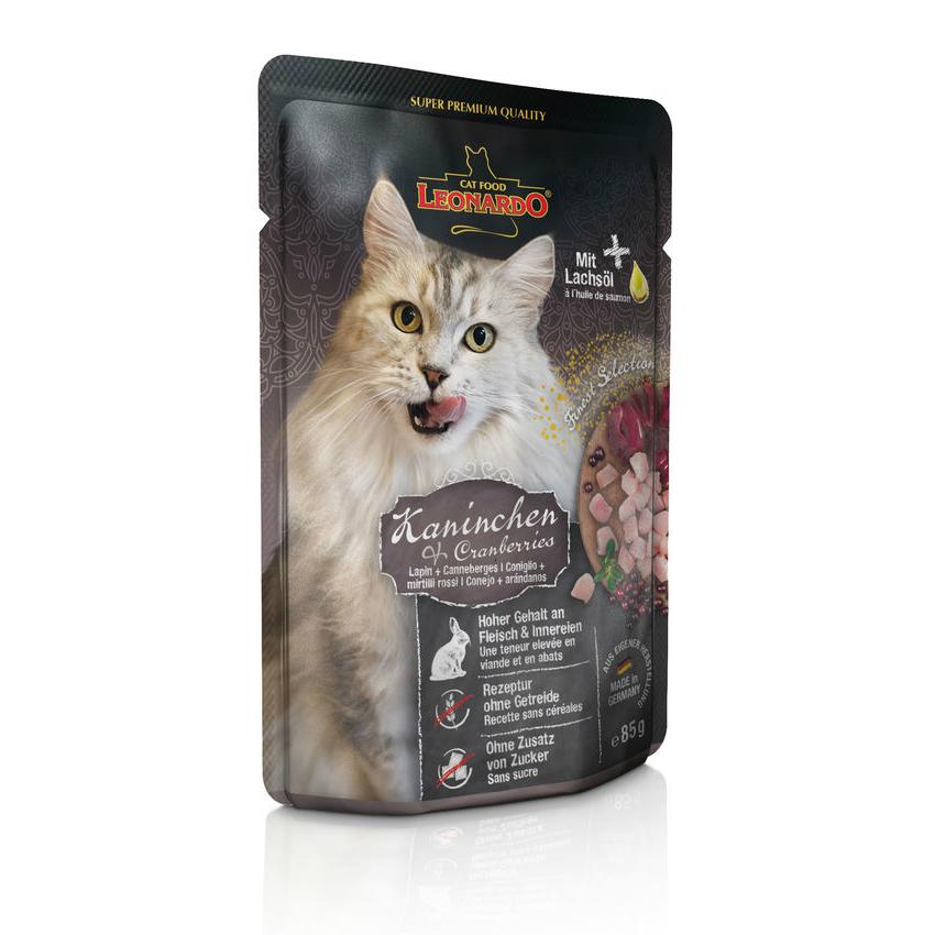 Leonardo Nassfutter für Katzen im Frischebeutel, Bild 5