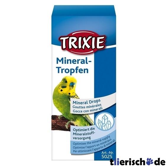 Trixie Mineral-Tropfen für Vögel 5025