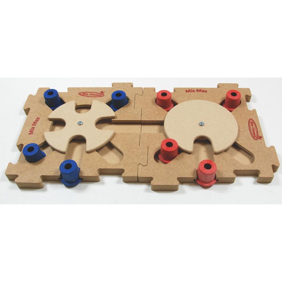 Nina Ottosson Mix Max Puzzle Holz Hundespiel, Bild 3