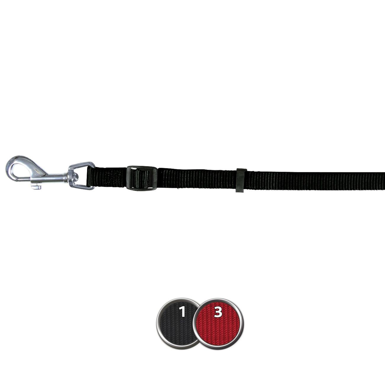 Trixie Nylon Hundeleine Classic stufenlos verstellbar 14103