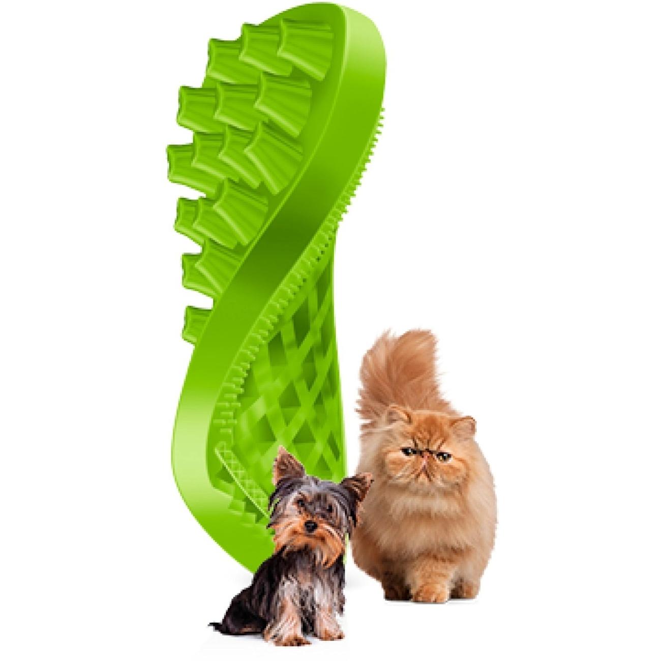 pet+me Reinigungsbürste Massagebürste für Haustiere, Bild 3