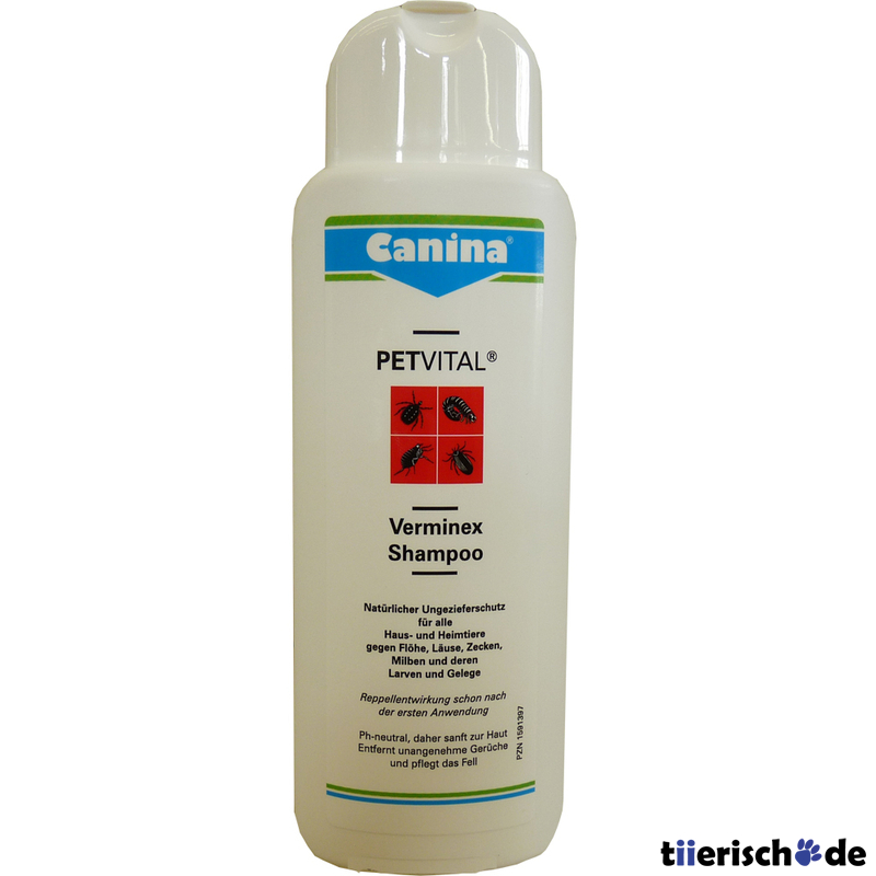 petvital verminex shampoo von canina g nstig bestellen. Black Bedroom Furniture Sets. Home Design Ideas