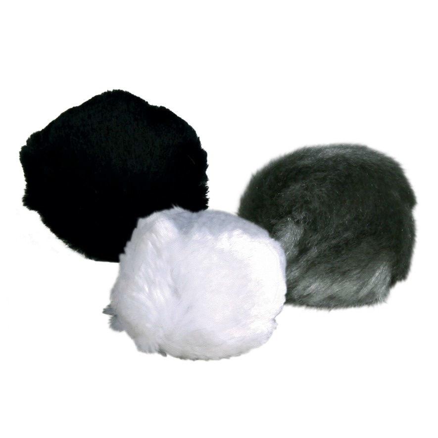 Plüsch-Ball mit Schelle & Catnip für Katzen