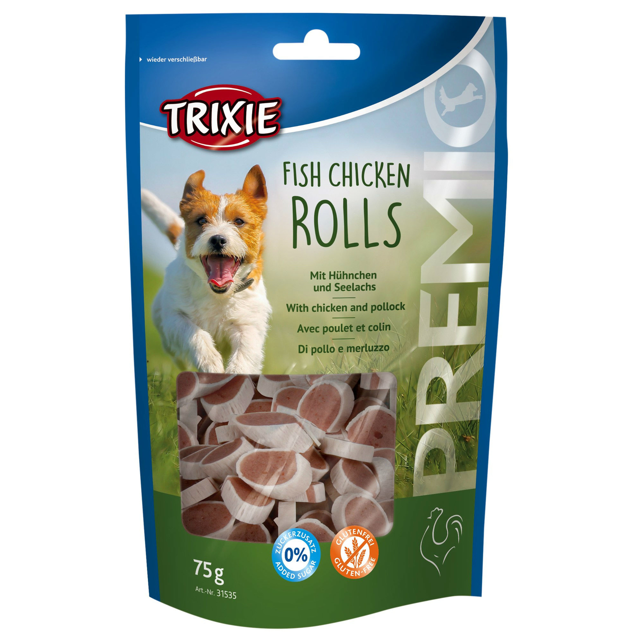 Trixie Premio Fish Chicken Hundesnack 31535