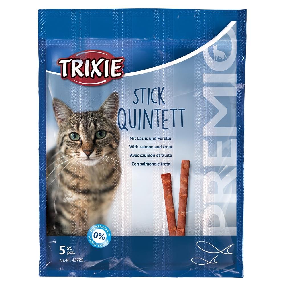 Trixie PREMIO Stick Quintett Katzensnack 42724, Bild 2