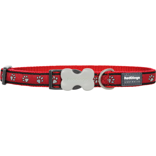 Red Dingo Hundehalsband Design Paw Prints, Bild 2