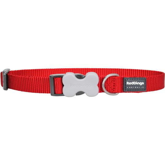 Red Dingo Hundehalsband einfarbig Uni, Bild 2