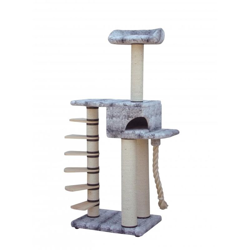 riesen kratzbaum giant step snow cat f r maine coon und norweger von europet bernina g nstig. Black Bedroom Furniture Sets. Home Design Ideas