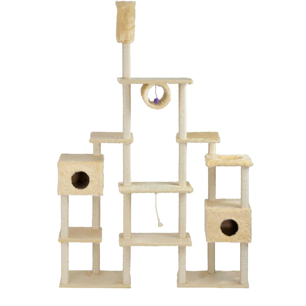 riesen kratzbaum serina beige von silvio design g nstig bestellen. Black Bedroom Furniture Sets. Home Design Ideas