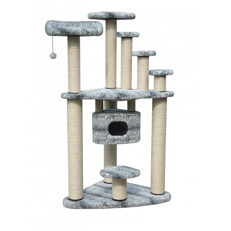 riesenkratzbaum gentle giant snow cat f r maine coon und norweger von europet bernina g nstig. Black Bedroom Furniture Sets. Home Design Ideas