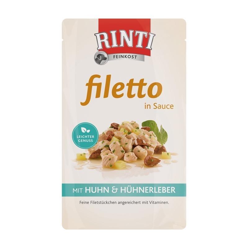 Rinti Filetto Hundefutter Frischebeutel, Bild 2