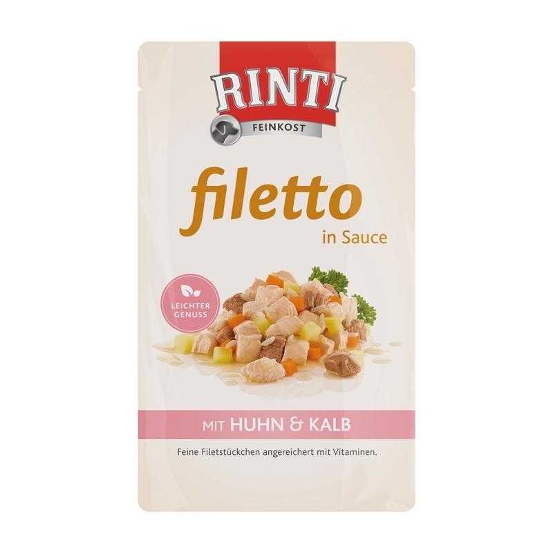Rinti Filetto Hundefutter Frischebeutel, Bild 3