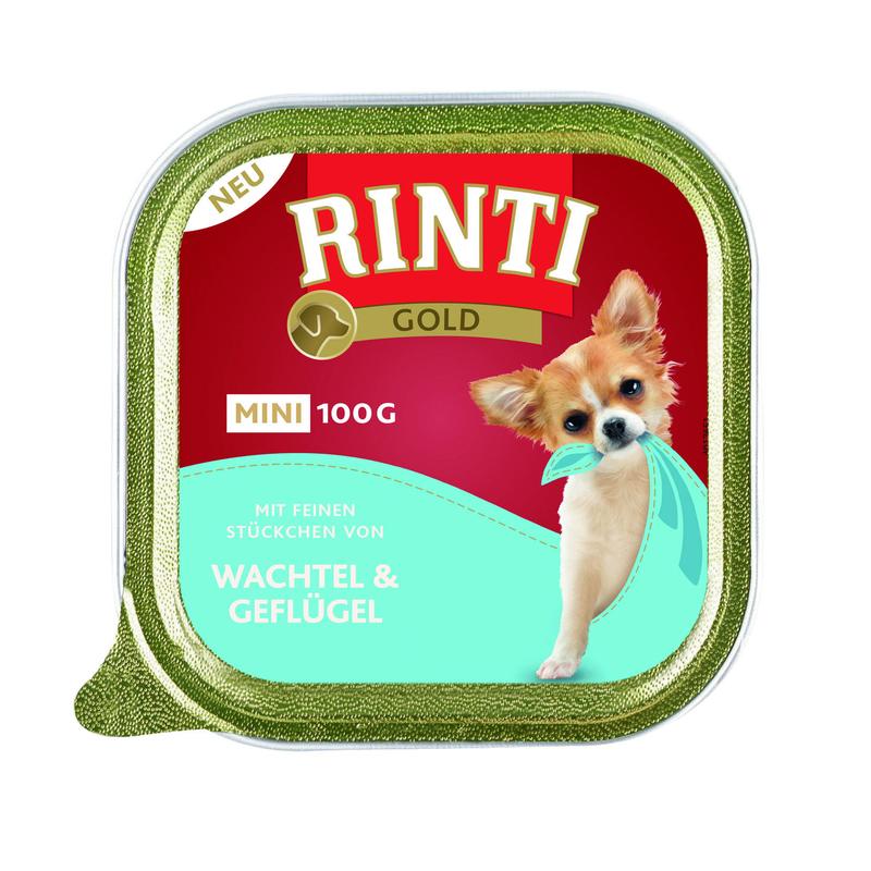 Rinti Gold Mini Nassfutter für kleine Hunde, Bild 2