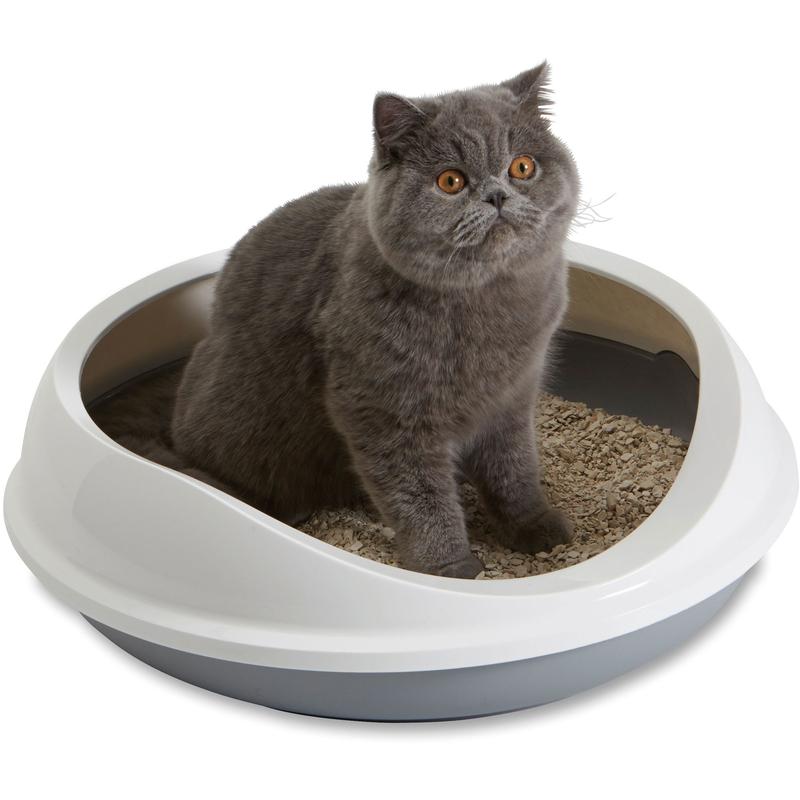 Savic Figaro ovale Katzentoilette mit Rand, Bild 2