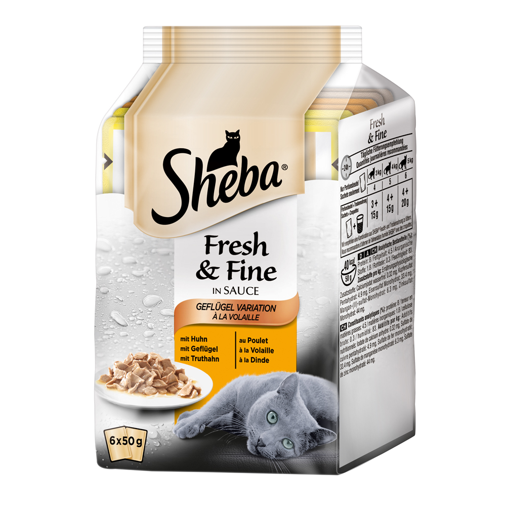 Sheba Fresh&Fine Katzenfutter Multipacks