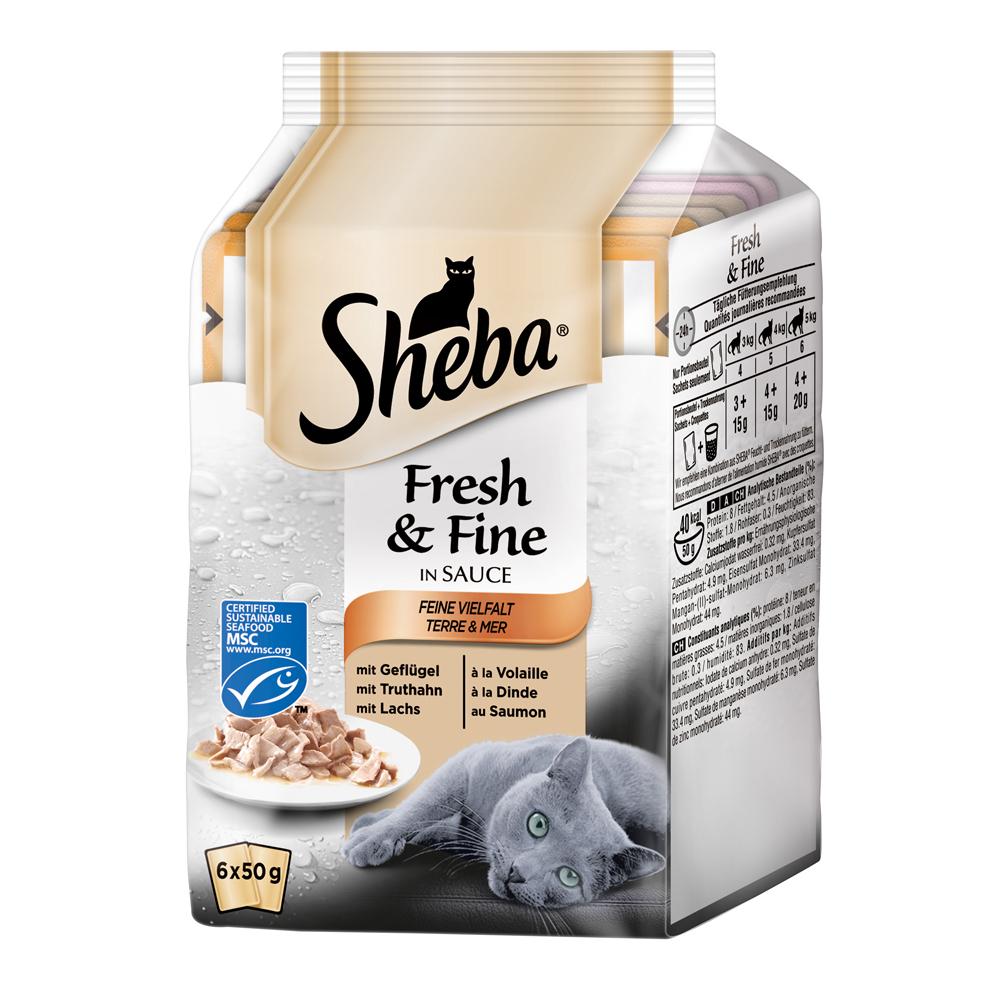 Sheba Fresh&Fine Katzenfutter Multipacks, Bild 4