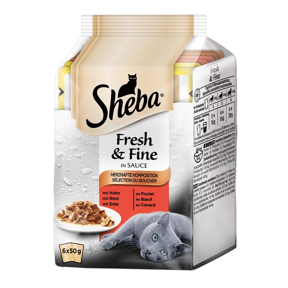 Sheba Fresh&Fine Katzenfutter Multipacks, Bild 5