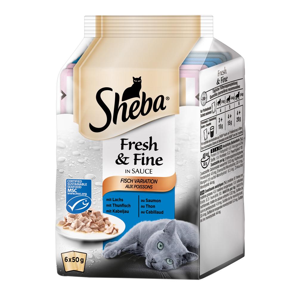 Sheba Fresh&Fine Katzenfutter Multipacks, Bild 8