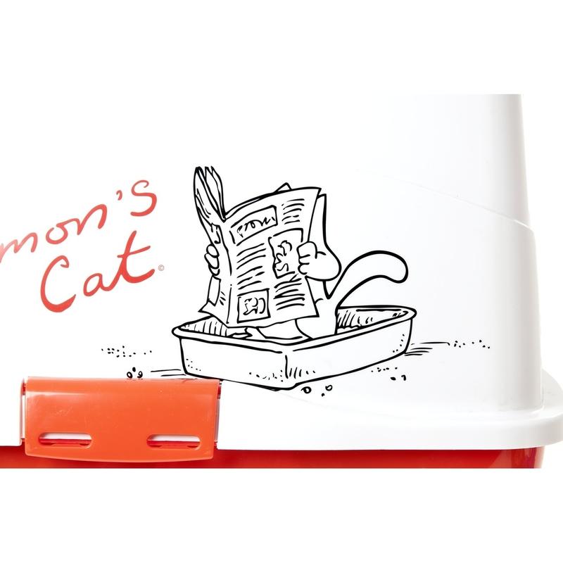 Simons Cat Katzentoilette, Bild 2