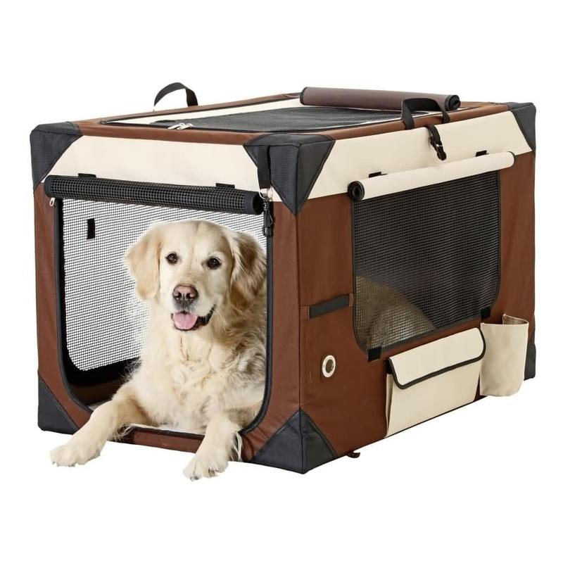 smart top deluxe hundebox transportbox von karlie flamingo. Black Bedroom Furniture Sets. Home Design Ideas