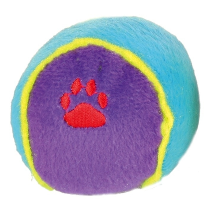 Spielball aus Plüsch für Hunde, Bild 3