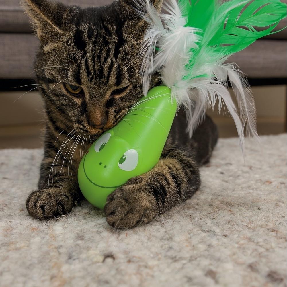 Trixie Steh-auf-Frosch, vibrierend Katzenspielzeug 46017, Bild 5