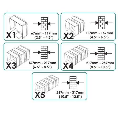 sureflap katzenklappe tunnelverl ngerung von sure petcare g nstig bestellen. Black Bedroom Furniture Sets. Home Design Ideas