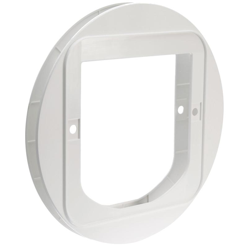 montageadapter f r glas f r kleine sureflap katzenklappe von sure petcare g nstig bestellen. Black Bedroom Furniture Sets. Home Design Ideas