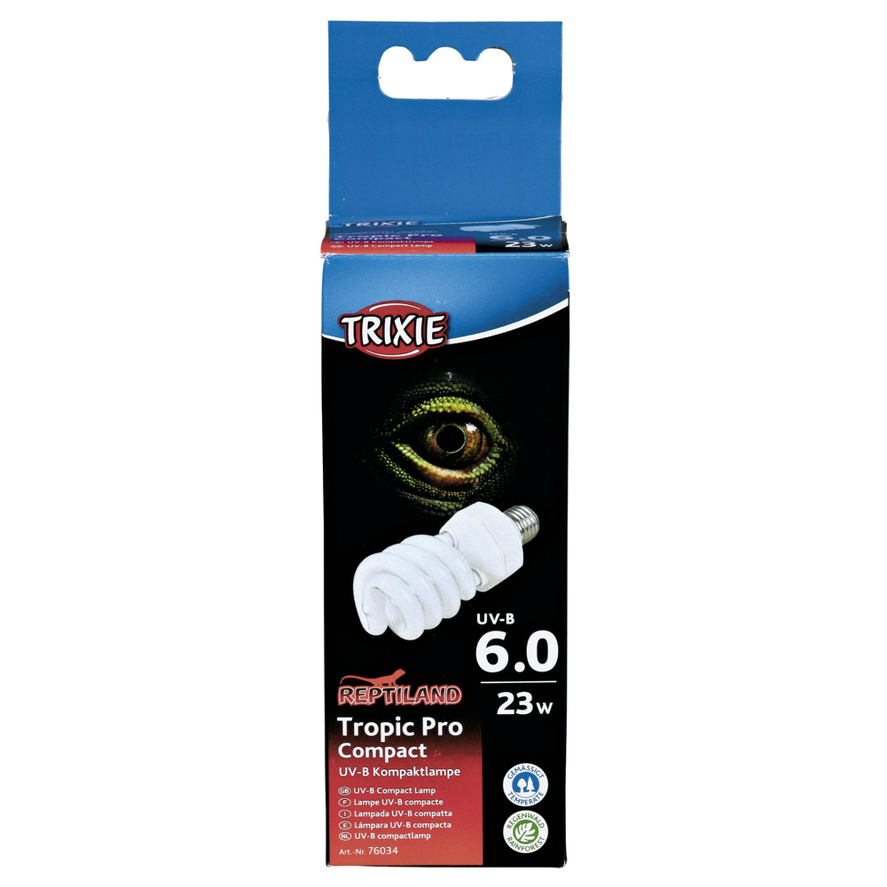 terrarium beleuchtung uv b lampe tropic pro 76034 von trixie g nstig bestellen. Black Bedroom Furniture Sets. Home Design Ideas