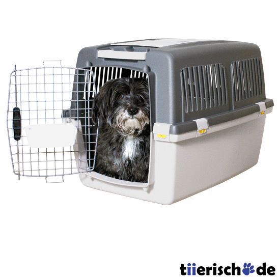 transportbox hund gulliver iata flugbox von trixie. Black Bedroom Furniture Sets. Home Design Ideas