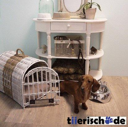 transportkorb f r hunde und katzen aus rattan von happy. Black Bedroom Furniture Sets. Home Design Ideas