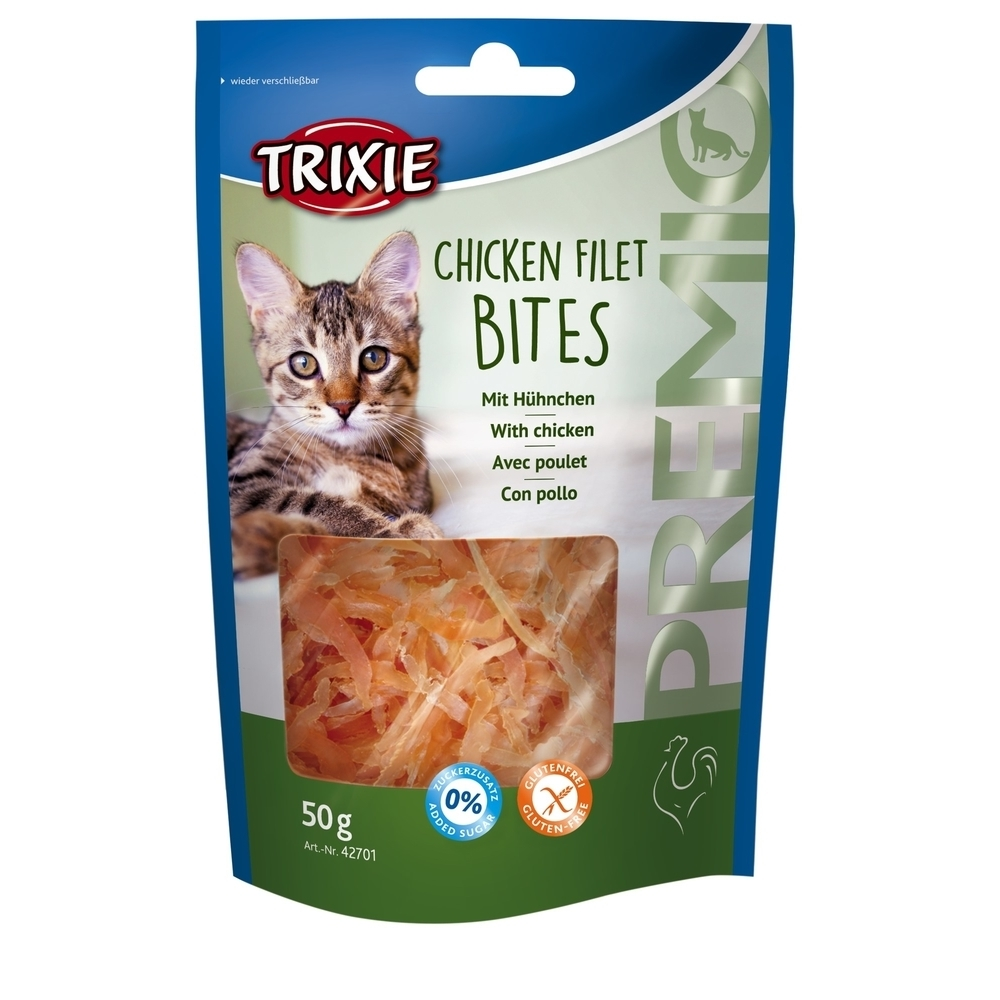Trixie Premio Katzenleckerlis Chicken Filet Bites 42701